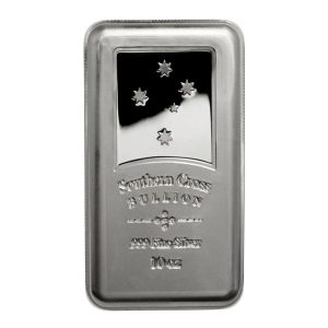 Southern Cross Minted 10oz Silver Bar