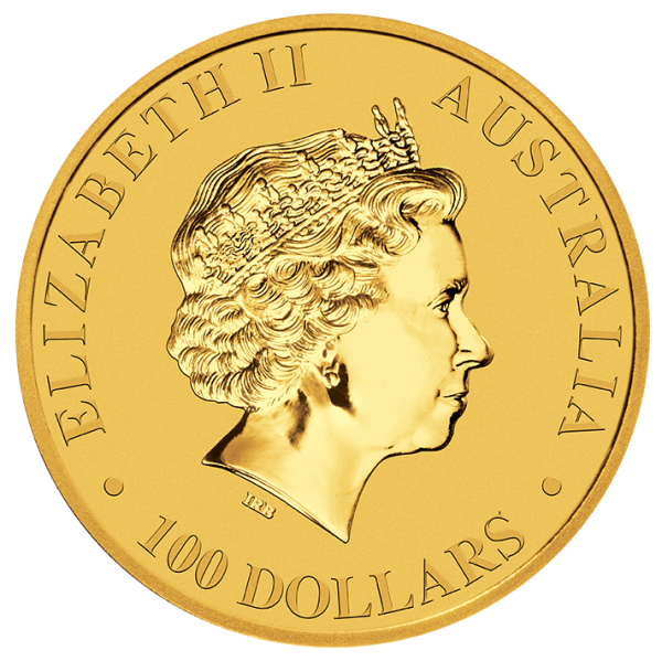 Allocated Perth Mint Kangaroo Gold Coin - 1oz