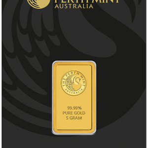 Perth Mint Kangaroo Gold Bar - 5g