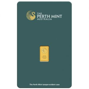 Perth Mint Kangaroo Gold Bar - 1g
