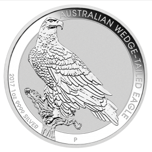 Perth Mint 2017 Wedge-Tailed Eagle Silver Coin - 1oz