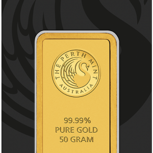 Perth Mint Kangaroo Gold Bar - 50g