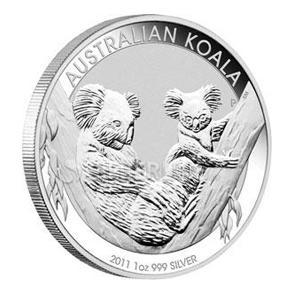 Perth Mint 2011 Koala 1oz Silver