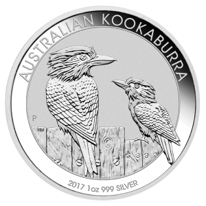 Perth Mint 2017 Kookaburra Silver Coin - 1oz