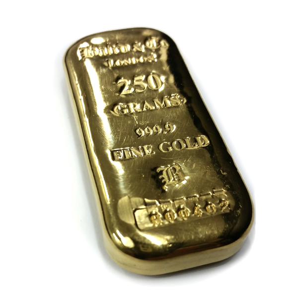 Baird and Co Cast Gold Bar - 250g