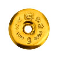 The Chinese Gold Tael by ABC - 37.5 gram