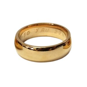 22K Bullion Ring - 1/2oz (Extra Large)