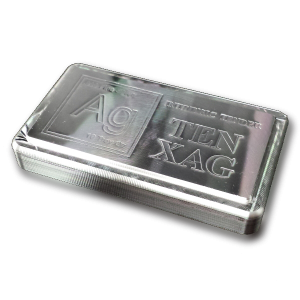 Intrinsic Tender TEN XAG Stacker 10oz Silver Bar