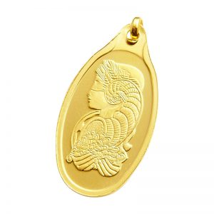 PAMP Suisse Fortuna Gold Pendant - 5g