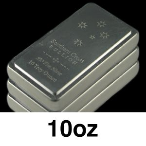 Low Premium Silver Stacker Bar - 10oz