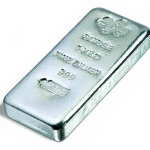 PAMP Suisse Cast Silver Bar - 1kg (New)