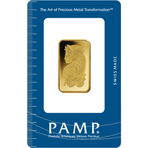 PAMP Suisse Fortuna Gold Bar - 1/2oz