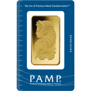 PAMP Suisse Fortuna Gold Bar - 100g