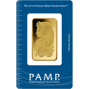 PAMP Suisse Fortuna Gold Bar - 1oz