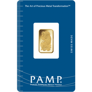 PAMP Suisse Fortuna Gold Bar - 2.5g