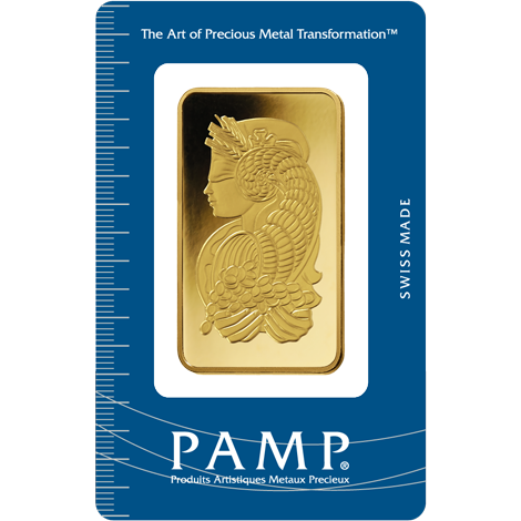 PAMP Suisse Fortuna Gold Bar - 50g