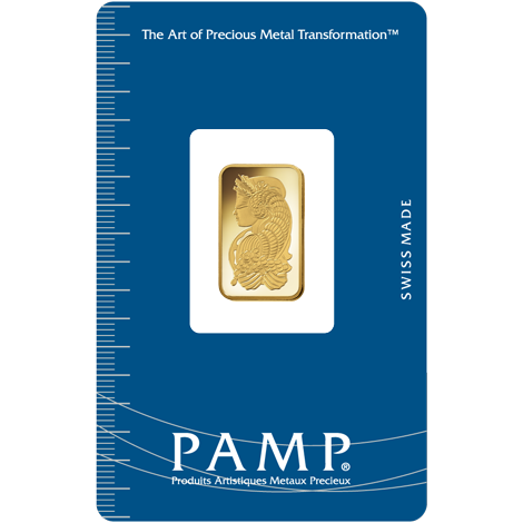 PAMP Suisse Fortuna Gold Bar - 5g
