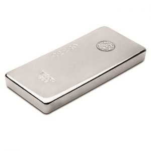 Perth Mint Cast Silver Bar - 100oz