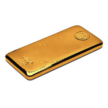 Perth Mint Cast Gold Bar - 1kg