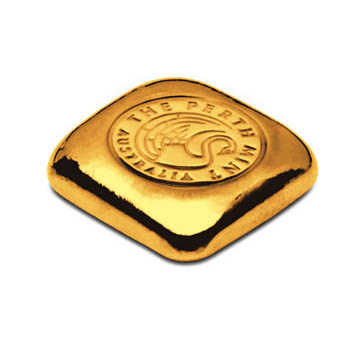Perth Mint Cast Gold Bar - 1oz
