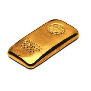 Perth Mint Cast Gold Bar - 2.5oz