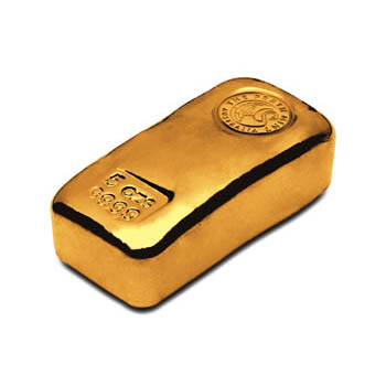 Perth Mint Cast Gold Bar - 5oz
