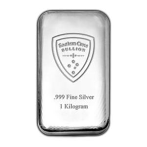 Southern Cross Cast 1kg Silver Bar