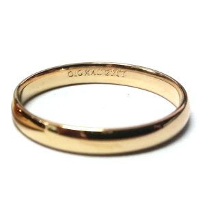 22K Bullion Ring - 1/10oz (Medium)