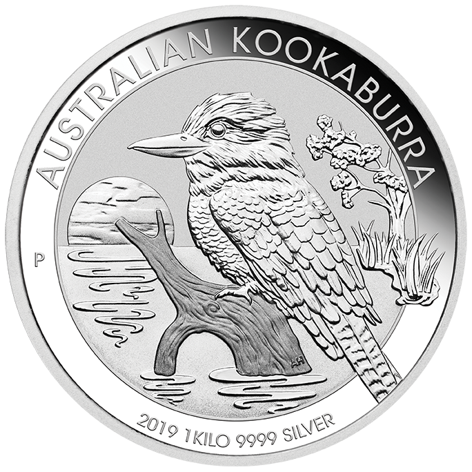 Buy Perth Mint 2019 Kookaburra Silver Coin 1kg Gold