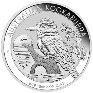 Perth Mint 2019 Kookaburra Silver Coin - 10oz