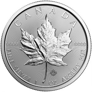 RCM 2018 Silver Maple Leaf Coin - 1oz