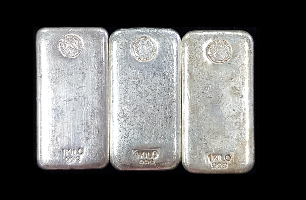 Perth Mint Silver cast Bars 1kg – Gold Stackers