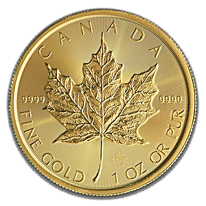 RCM 2019 Gold Maple Leaf Coin - 1oz