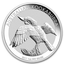 Perth Mint 2011 Kookaburra 1oz Silver (SPECIAL BUY)
