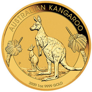 Perth Mint 2020 Kangaroo Gold Coin - 1oz