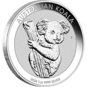 Perth Mint 2020 Koala Silver Coin - 1oz