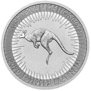 Perth Mint 2020 Kangaroo 1oz Platinum Coin