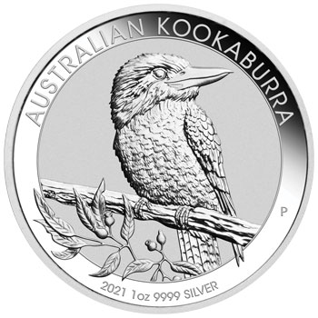 Perth Mint 2021 Kookaburra Silver Coin - 1oz