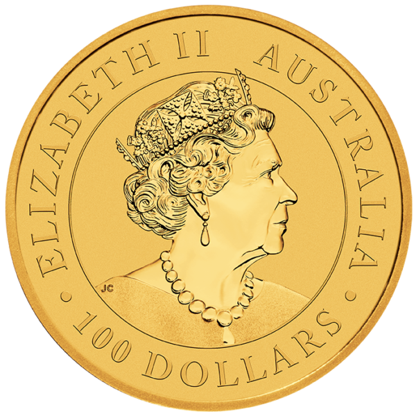 Perth Mint 2021 Kangaroo Gold Coin - 1oz