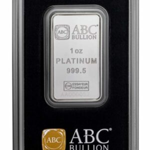 ABC Platinum Minted Bar - 1oz