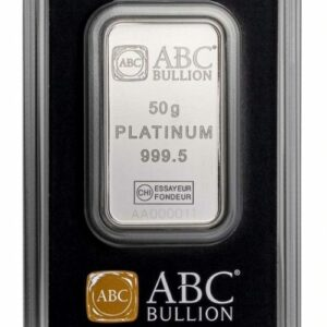 ABC Platinum Minted Bar - 50g